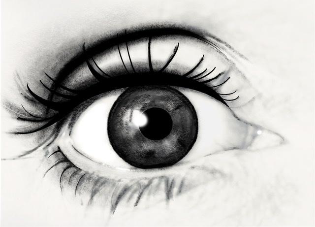 oog tekening